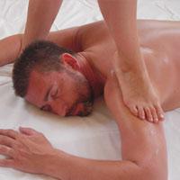 Ayurvedische Druckmassage in der Massagepraxis Andrea Bär